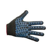 Перчатки с ПВХ, серые