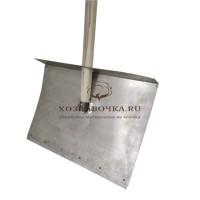 Лопата алюминиевая снеговая 1-борт, 500х375 мм