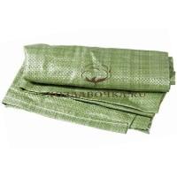 Мешки полипропиленовые 55х95 см, зелёный
