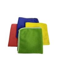 Салфетка для уборки универсальная, микрофибра 30х30см, 4 шт