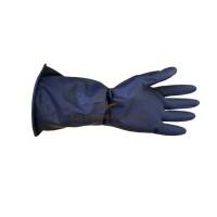 Перчатки кислотощелочестойкие (КЩС), черные