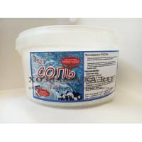 Соль для посудомоечных машин, 1.5 кг в банке